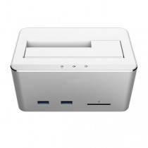 USB3.0 Docking Station Multifunzione-Techly Np-I-CASE SATA-TST54H