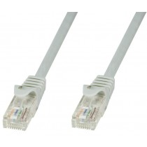 Cavo di rete Patch in CCA Cat.5E Grigio UTP 15m-Techly Professional-ICOC CCA5U-150T
