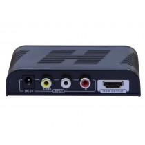 Convertitore da Video Composito CVBS e Audio a HDMI con scaler-Techly Np-IDATA SPDIF-6E2