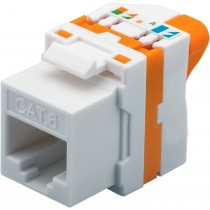 Frutto Keystone RJ45 Cat.6 UTP Tooless-Techly Professional-IWP-MD C6/UROTT
