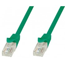 Cavo di rete Patch in CCA Cat.5E Verde UTP 20m-Techly Professional-ICOC CCA5U-200-GREET