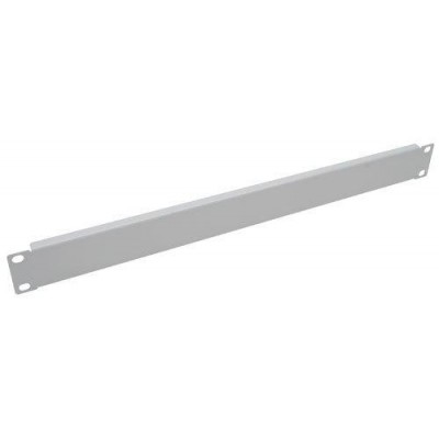 Blind Panel for Racks 19' Gray 1 Unit-I-CASE BLANK-Techly Professional