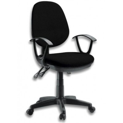 Delux Office Chair Black-ICA-CT P18BK-Techly
