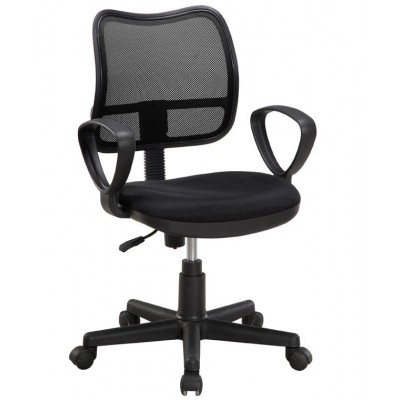 AIR Office Chair Black-ICA-CT T046BK-Techly