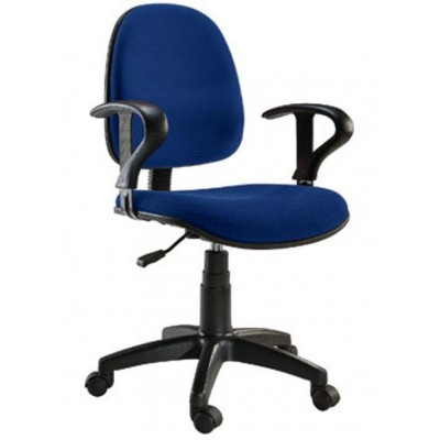 Easy Office Chair Blue-ICA-CT MC04BLU-Techly