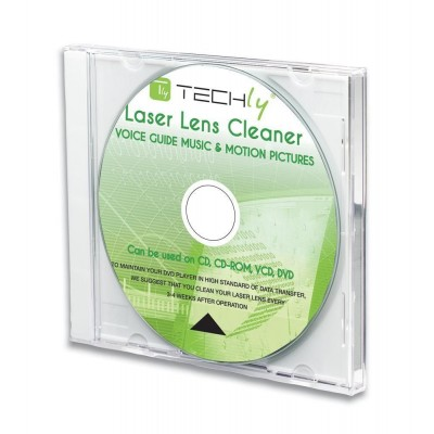 Laser Lens Cleaner for DVD Recorder and CD Player-ICA-CD-DVD-Techly