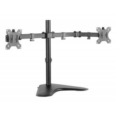 Double Joint Monitor Arm for 2 Monitors 13-32\