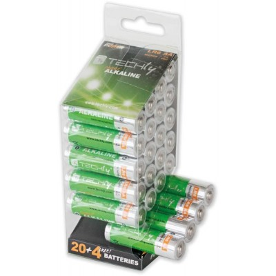 Multipack 24 High Power Batteries Stylus AA Alkaline LR06 ...