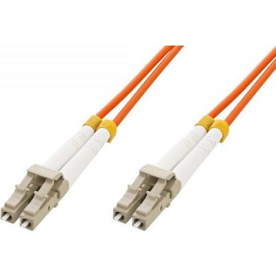 Multimode 50/125 OM2 Fiber Optic Cable LC/LC 15m-ILWL D5-LCLC-150-Techly Professional