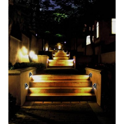 Led Lamp Steplight Outdoor With Twilight Sensor Led