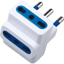 Triple Adapter Plug 16A White-IPW-IC213-Techly